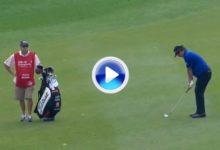 Un gran disparo de Jason Dufner para eagle el mejor del día en el HSBC (VÍDEO)