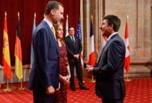 Olazábal recibe el Príncipe de Asturias con 'swing'