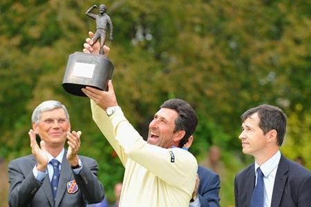 José María Olazábal levanta el Seve Trophy 2013