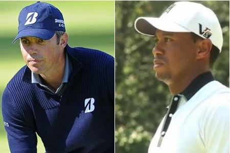 Matt Kuchar y Tiger Woods