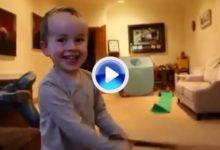 Un niño de tres años, ¿nuevo prodigio del golf irlandés? (VÍDEO)