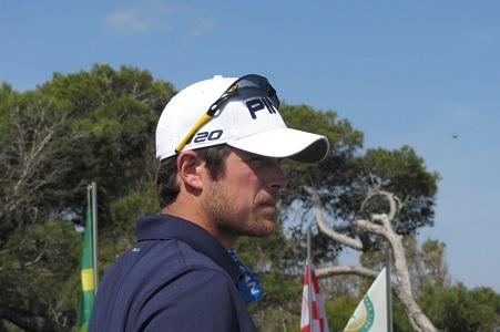 Nacho Elvira, durante el Open de España 2013; foto opengolf