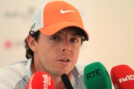 Rory McIlroy. Foto Fran Caffrey www.golffile.ie