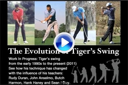 El swing de Tiger, en constante evolución (VIDEO)