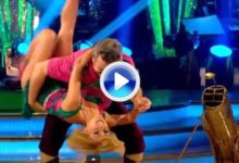 El ganador de dos grandes, Tony Jacklin, en el 'Mira quién baila' inglés ¿era necesario? (VÍDEO)