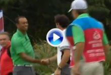 La exhibición de Tiger y McIlroy resumida en dos minutos. Vea los mejores golpes (VÍDEO)