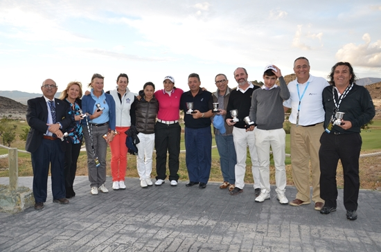 13 11 17 Ganadores Pro Am CostaBlanca Ladies Open