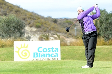 Therese Larsson, primera líder en el CostaBlanca Ladies Open