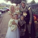Ben Crane y familia
