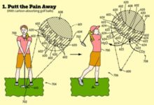 Invento Nike: Una bola de golf que reduce el CO2