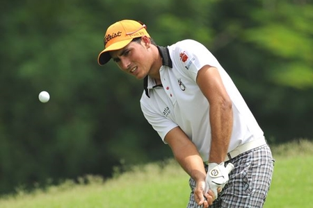 Carlos Pigem en el Indonesia Open. Foto: Asian Tour