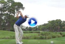 VÍDEO: Vea el potente swing de Dustin Johnson a cámara lenta