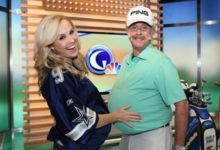 Presentador de Golf Channel se disfrazó de Miguel Ángel Jiménez en Halloween