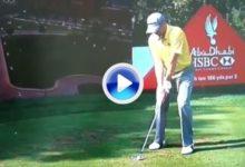 Recordamos el primer hoyo en uno de Sergio García en el Tour Europeo (VÍDEO)