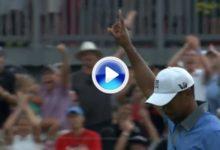 MEJORES GOLPES DEL AÑO, Nº 8: Tiger Woods en el Bridgestone Invitational (VÍDEO)