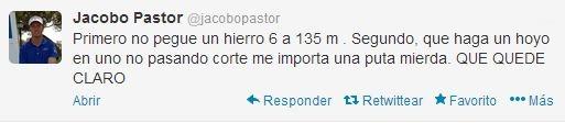 Twitter Jacobo Pastor