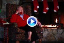 Palmer 'llamó' a Santa Claus por teléfono y obró el milagro en el Hospital para Niños (VÍDEO)