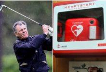 Tres meses después de sufrir un infarto, Bernard Gallacher regresa a un campo de golf