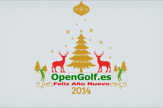 OpenGolf les desea un Feliz Año Nuevo