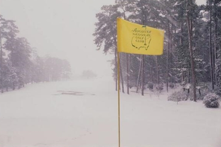 Hoyo 8 Augusta National Foto: Graeme McDowell vía Twitter
