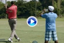 LeBron James: O.K. en basket, K.O. en golf