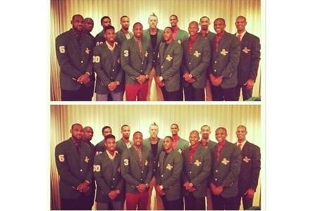 El NBA Wade regaló una 'Chaqueta Verde' a sus compañeros (FOTO)