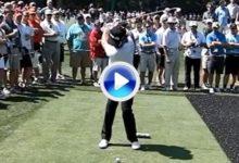 El swing de un campeón, Miguel Ángel Jiménez a cámara super lenta (VÍDEO)