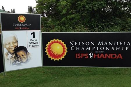 Tee del 1 del Nelson Mandela Championship. Foto: Mark Immelman