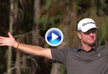 Scott Verplank firmó el golpe de la jornada con este magnífico approach para eagle (VÍDEO)
