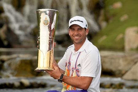 Sergio García campeón en Tailandia. Foto: Asian Tour