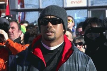 Tiger Woods Francia