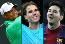 EEUU vota al atleta del año. Tiger vs Nadal y Messi
