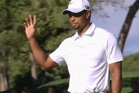 Tiger Woods en Turquia