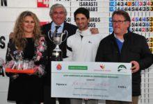 Xavi Guzmán abraza la gloria en el Campeonato de España 'Pro'