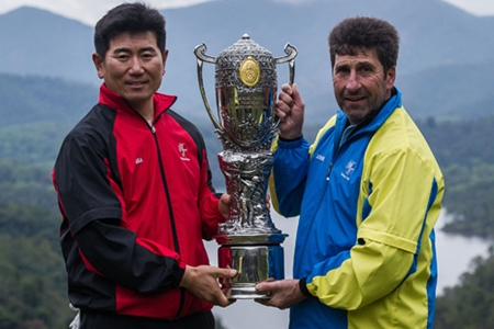 Olazábal y Quirós quieren el Royal Trophy en sus vitrinas