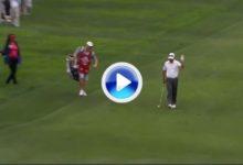 Wi firmó el golpe del día en el PGA Tour. Gran eagle: botó la bola y directa al hoyo (VÍDEO)