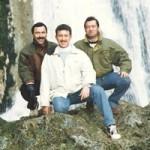 Con Pascual Jiménez y José María Buendia en Riopar