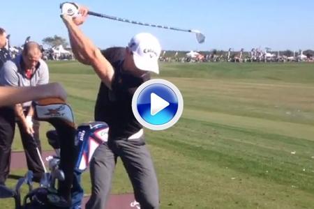 Sadlowski dio la nota en el PGA Show de Orlando, alcanzó 234 mts. con un ¡¡¡hierro 5!!! (VÍDEO)