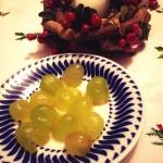 Javi Colomo, con las doce uvas