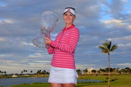 Jessica Korda campeona en el Pure Silk-Bahamas LPGA Classic Foto LPGA vía Twitter