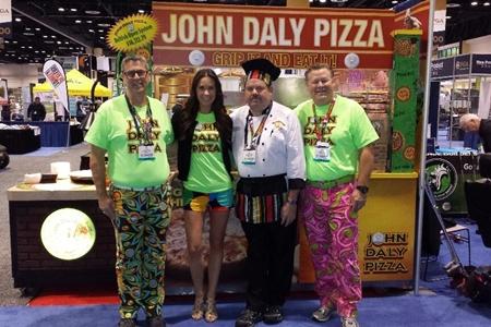 John Daly Pizza Team