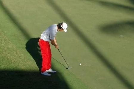 Kevin Na durante el Sony Open de esta semana