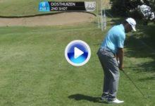 Estos son los golpes del día (jueves) en el Volvo Golf Champions (VÍDEO)