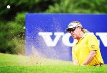 Jiménez brilló durante la tercera jornada del Volvo Golf Champions