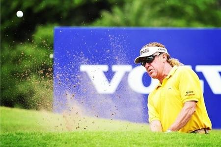 Miguel Ángel Jiménez Foto Volvo in Golf
