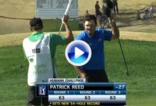 Patrick Reed firmó, como no, el golpe del día en el Humana Challenge (VÍDEO)
