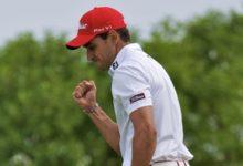 Cabrera-Bello muestra su fortaleza en Abu Dhabi. Comparte liderato con Craig Lee