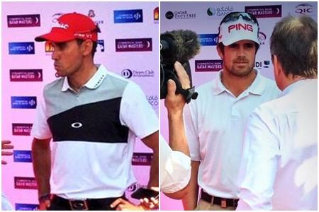 Rafa Cabrera-Bello y Nacho Elvira en Qatar finalizadas sus rondas