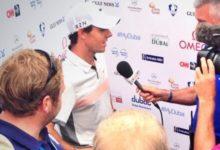 Rory mantiene el liderato en un día gris para Tiger