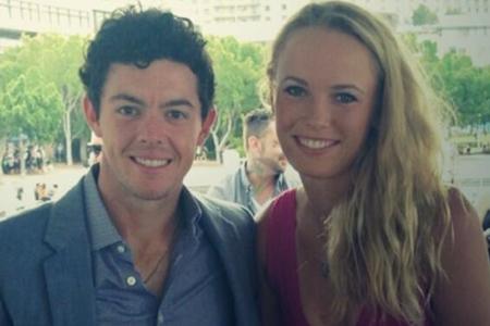 Rory McIlroy y Caroline Wozniacki